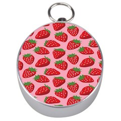 Fruitb Red Strawberries Silver Compasses