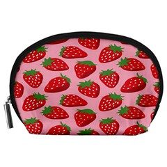 Fruitb Red Strawberries Accessory Pouches (Large)