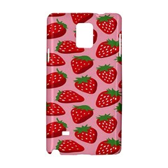 Fruitb Red Strawberries Samsung Galaxy Note 4 Hardshell Case