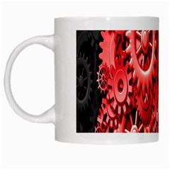 Gold Wheels Red Black White Mugs