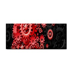 Gold Wheels Red Black Cosmetic Storage Cases