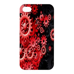 Gold Wheels Red Black Apple iPhone 4/4S Hardshell Case