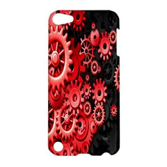 Gold Wheels Red Black Apple iPod Touch 5 Hardshell Case