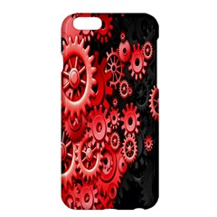 Gold Wheels Red Black Apple iPhone 6 Plus/6S Plus Hardshell Case