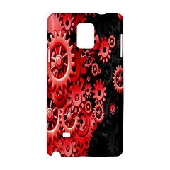 Gold Wheels Red Black Samsung Galaxy Note 4 Hardshell Case