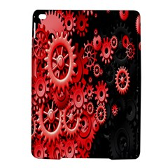 Gold Wheels Red Black iPad Air 2 Hardshell Cases