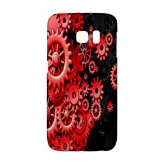 Gold Wheels Red Black Galaxy S6 Edge