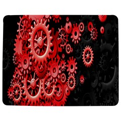 Gold Wheels Red Black Jigsaw Puzzle Photo Stand (Rectangular)