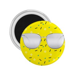 Glasses Yellow 2 25  Magnets