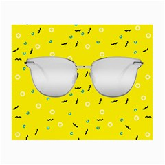 Glasses Yellow Small Glasses Cloth (2-Side)