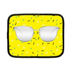 Glasses Yellow Netbook Case (Small)