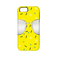 Glasses Yellow Apple Iphone 5 Classic Hardshell Case (pc+silicone)