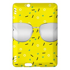 Glasses Yellow Kindle Fire HDX Hardshell Case