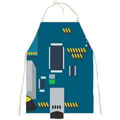 Amphisbaena Two Platform Dtn Node Vector File Full Print Aprons