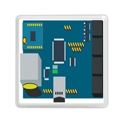 Amphisbaena Two Platform Dtn Node Vector File Memory Card Reader (Square)