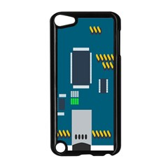 Amphisbaena Two Platform Dtn Node Vector File Apple Ipod Touch 5 Case (black)