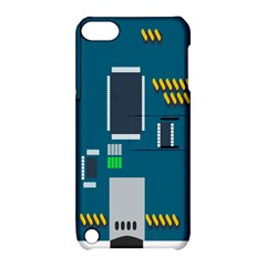 Amphisbaena Two Platform Dtn Node Vector File Apple iPod Touch 5 Hardshell Case with Stand