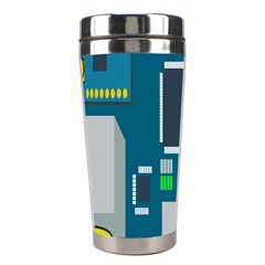 Amphisbaena Two Platform Dtn Node Vector File Stainless Steel Travel Tumblers