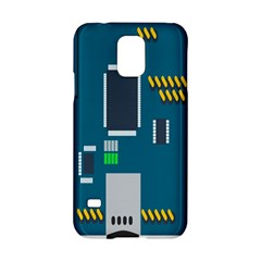 Amphisbaena Two Platform Dtn Node Vector File Samsung Galaxy S5 Hardshell Case