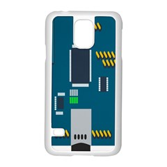 Amphisbaena Two Platform Dtn Node Vector File Samsung Galaxy S5 Case (White)