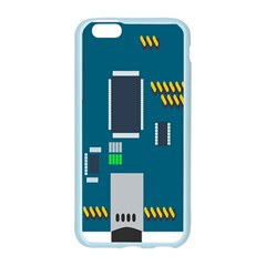 Amphisbaena Two Platform Dtn Node Vector File Apple Seamless iPhone 6/6S Case (Color)