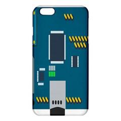 Amphisbaena Two Platform Dtn Node Vector File iPhone 6 Plus/6S Plus TPU Case