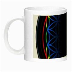 Flower Of Life Night Luminous Mugs