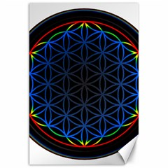 Flower Of Life Canvas 20  x 30