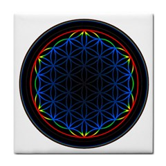 Flower Of Life Face Towel