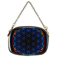 Flower Of Life Chain Purses (two Sides)