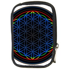 Flower Of Life Compact Camera Cases
