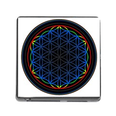 Flower Of Life Memory Card Reader (square)