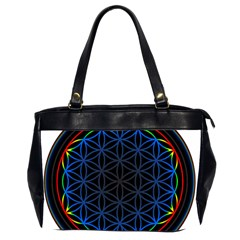 Flower Of Life Office Handbags (2 Sides)