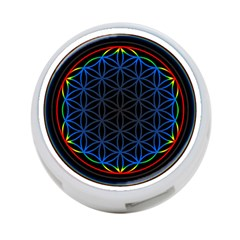 Flower Of Life 4-Port USB Hub (One Side)