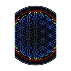 Flower Of Life Shower Curtain 48  X 72  (small)