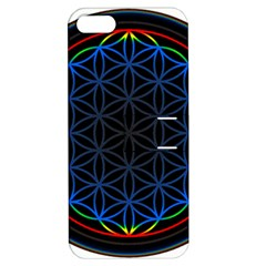 Flower Of Life Apple Iphone 5 Hardshell Case With Stand
