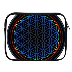 Flower Of Life Apple iPad 2/3/4 Zipper Cases