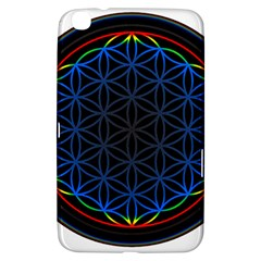 Flower Of Life Samsung Galaxy Tab 3 (8 ) T3100 Hardshell Case