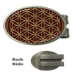 Flower Of Life Money Clips (Oval)