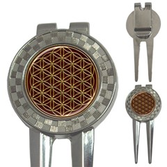 Flower Of Life 3 In 1 Golf Divots