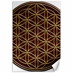 Flower Of Life Canvas 12  X 18