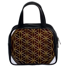 Flower Of Life Classic Handbags (2 Sides)
