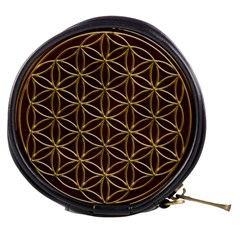 Flower Of Life Mini Makeup Bags