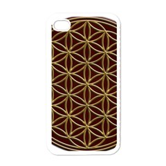 Flower Of Life Apple Iphone 4 Case (white)
