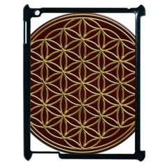 Flower Of Life Apple iPad 2 Case (Black)