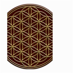 Flower Of Life Small Garden Flag (two Sides)
