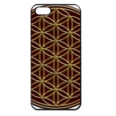 Flower Of Life Apple iPhone 5 Seamless Case (Black)