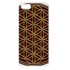 Flower Of Life Apple iPhone 5 Seamless Case (White)