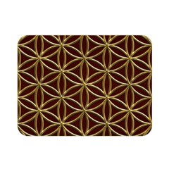 Flower Of Life Double Sided Flano Blanket (Mini)