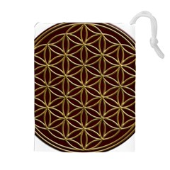 Flower Of Life Drawstring Pouches (Extra Large)